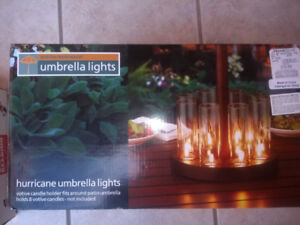 Outdoor tealight candle holder