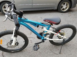 Kranked Gromm 20 Full Suspension Mountain Bike