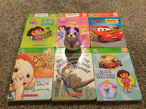 Leap frog reader and 6 books- never used London Ontario image 1