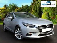 2018 Mazda 3 2.2d Sport Nav 5dr Auto Automatic Diesel Hatchback