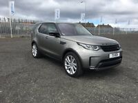 Land Rover Discovery 3.0 SDV6 FIRST EDITION 7 SEAT 4WD AUTO (silver) 2017