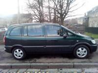 Vauxhall Zafira 1.6i 16v Life 2004 (54)**7 Seater**Feb 2019 MOT