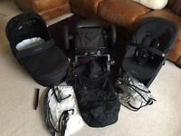 Mothercare Movix Travel System - Black