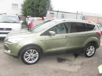 2013 Ford Kuga SUV 4WD 2.0TDCi 163 DPF EU5 Titanium X 6Spd Diesel green Manual