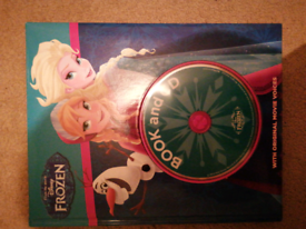Frozen storybook and cd