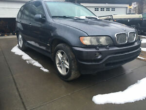 Parting out BMW X5