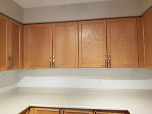PERFECT CONDITION KITCHEN CABINETS - $1000 OBO