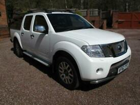 2012 Nissan Navara Double Cab Pick Up Outlaw 3.0dCi V6 231 4WD Auto TOP OF THE R
