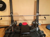 Bowflex Bench Press weight set and more