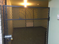 **Secure and Heated Storage in Downtown Commercial Building**