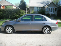 2005 Acura EL Touring Sedan manual very good condition