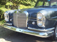 1964 Mercedes 220Sb Fintail