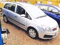 ★ CLEARANCE OFFER ★🚗★ 2007 VAUXHALL ZAFIRA 1.6 PETROL★ 7 SEATER ★MOT MAY 2017★ CAT-D ★KWIKI AUTOS★