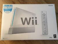 Boxed Nintendo Wii Jailbroken/homebrew