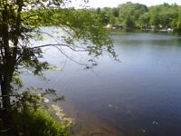 Large Waterfront Lot - 302 feet of Excellent Shoreline