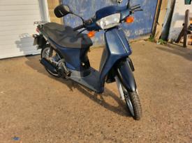 Honda Sh 50 scooter for sale 12 moths MOT.