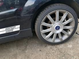 St ford fiesta mk6 alloy wheels rim 17 inch