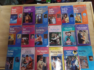 18 Harlequin Intrigue books for sale, lot 1