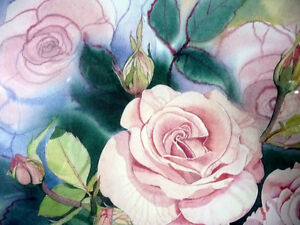 "L/Edition, Hand Signed, Mary-Dawn Roberts, ""Victorian Roses"" Stratford Kitchener Area image 4"