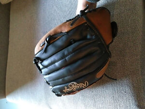 12 1/2 inch Leather palm baseball glove (New with tags)