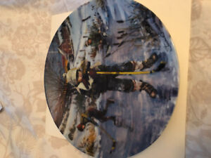 Collectable plate dreams of glory