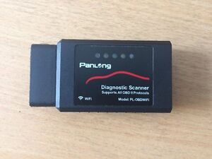 Panlong OBD ll scanner wifi iphone / android / laptop