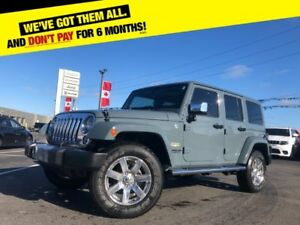 2015 Jeep Wrangler Unlimited Sahara | 4X4 | BLUETOOTH | HEATED L
