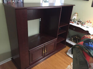 Cherry Entertainment Unit - Great Condition