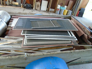 Various Window Screens
