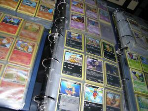 Carte Pokémon 0,50$ la carte au choix dans les cartables, classé
