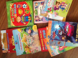 Lors de livres enfants