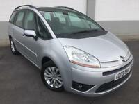 2009 09 Citroen Grand C4 Picasso 1.6HDi 16v VTR+ 7 SEATER ONLY 55000 MILES