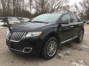 2012 LINCOLN MKX AWD * LEATHER * SUNROOF * REAR CAM * NAV * BLUE London Ontario image 2