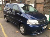 Toyota high-ace d4d 1owner 119k miles fsh