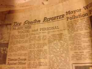 Old newspapers from 1963 Kitchener / Waterloo Kitchener Area image 4