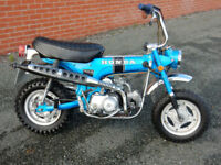 HONDA CT70 TRAIL 1971 72cc MOT'd UNTIL SEPTEMBER 2018