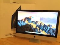"IMac 27"" Quad Core 2.8Ghz Intel i7 Turbo Boost 3.46Ghz 1TB HD 4GB DDR3 Radeon 4850"