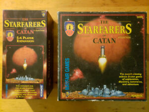 Starfarers of Catan plus the 5-6 Player Expansion
