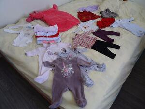 vêtements 0 à 3 mois