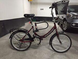 Schwinn Folding Bike w/ accessories - CHEAP!