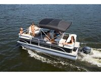 2014 Sunchaser NEW OASIS Cruise 818 with 30hp Evinrude E-TEC