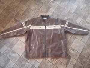 For Sale: Brown Leather Jacket Size 4XL