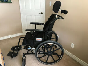 Wheelchair - MAP1 - Supertilt and Parsons transfer board