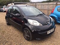 PEUGEOT 107 2006 3DR IDEAL FIRST CAR CHEAP INSURANCE AND ONLY £20 ROAD TAX