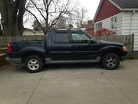 "2001 Ford Explorer Sport Trac Pickup Truck   ""AS IS"""