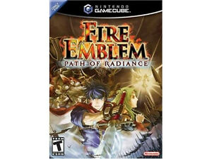 gc gamecube Fire Emblem Path of Radiance complet (tres rare)