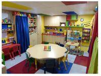 1 PLACE pour enfant d'environ 2 1/2 ans