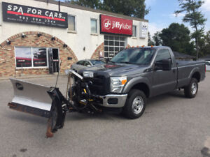 2011 FORD F250 POWERSTROKE WITH SNOWPLOW