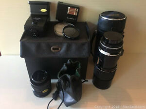 camera lenses and accessory's