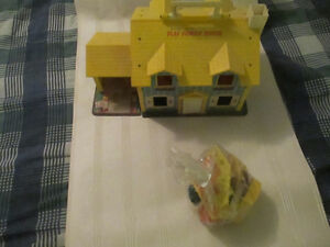 Fisher-Price vintage Little People houses